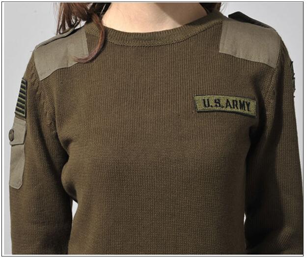 legergroene sweater dames