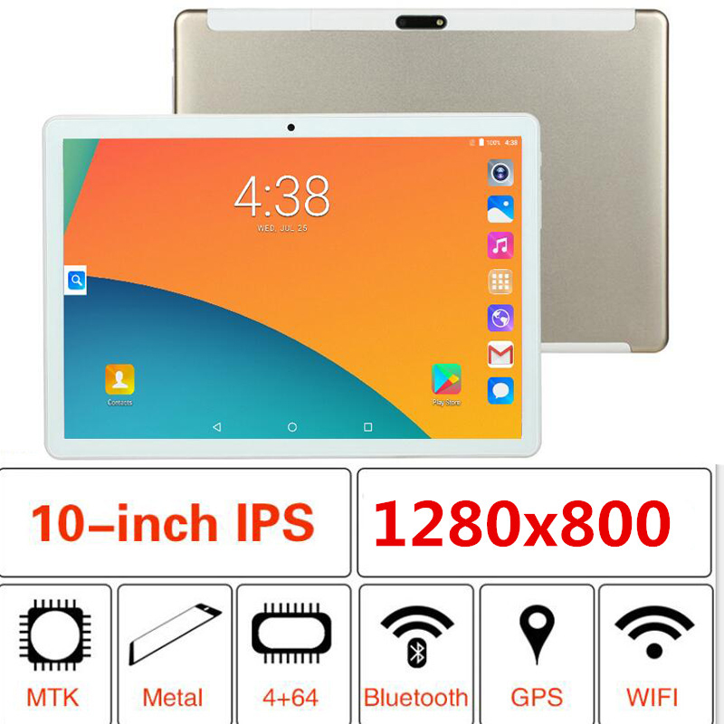 10' Tablet PC 3G Android 8.1 Octa Core Super Tablets 4GB 6GB RAM 32GB 64GB 128GB ROM WiFi GPS 10.1 Tablet IPS Screen Computer