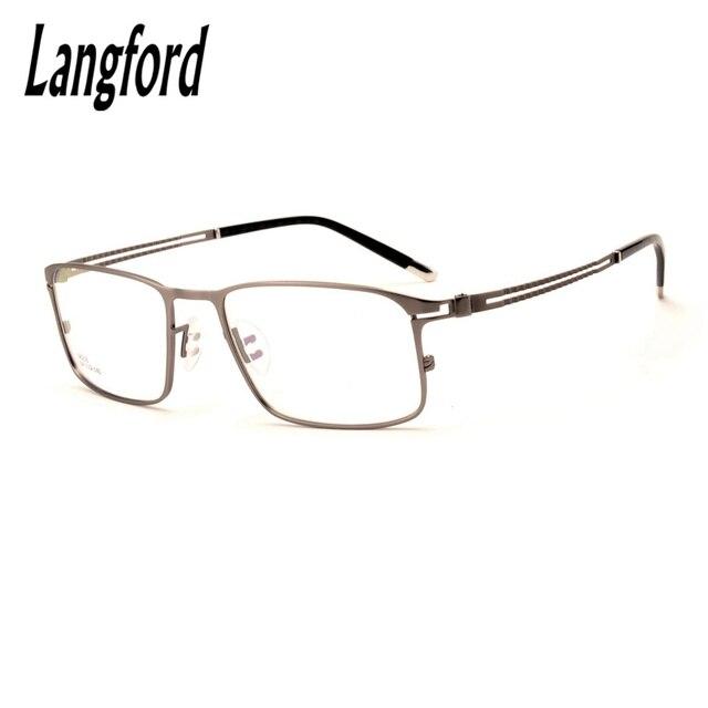 1a3a86e758 Montura de gafas grandes marco óptico completo de gafas para hombre montura  de gafas diseños de
