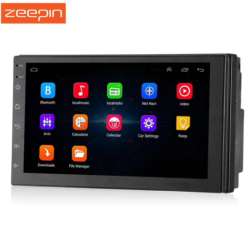 Zeepin 2din 7 Inch Touch Screen Android Car Multimedia Player Built In GPS Camera Available High GualityZeepin 2din 7 Inch Touch Screen Android Car Multimedia Player Built In GPS Camera Available High Guality