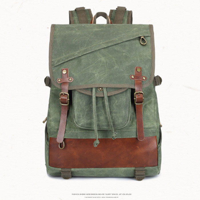New Men Male canvas College School Student Backpack Casual Rucksacks Travel Bag Laptop bags women bags Fashion green/black bags vintage canvas backpack men s and women s school bags male travel bagpack large capacity leisure college bags 2018 new fashion