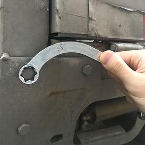 Image 3 - Mainpoint 4 Pz Doppio Box End E stelle Chiavi a Forma di Mezza Luna C Tipo di Piegatura Combinazione Cr Mo Chiave Dinamometrica chiave Universale