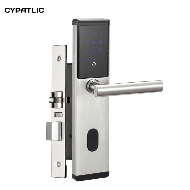 Security Electronic Combination Door Lock Digital Smart Touch Screen Keypad Password Lock Door Home Office Door