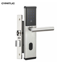 Security Electronic Combination Door Lock Digital Smart Touch Screen Keypad Password Lock Door Home Office Door Lock недорого