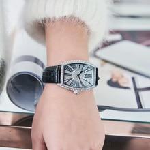 Women Luxury Fully Diamond Quartz Wrist Watch (12 colors)