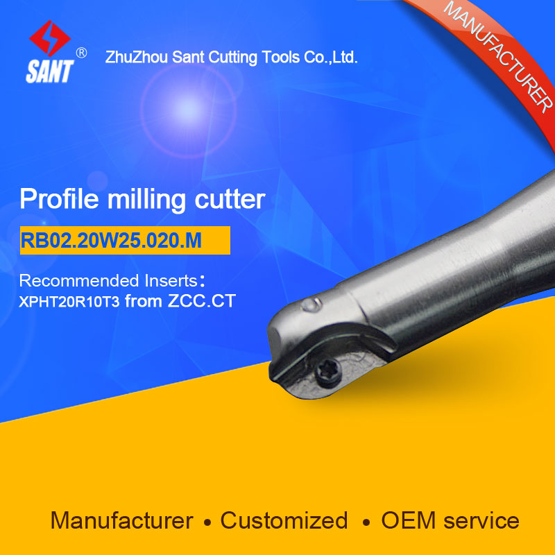 Suggested ZCCCT BMR03-020-XP25-M  Indexable Milling cutter SANT B02.20W25.020.M with XPHT20R10T3 carbide insert for ZCC  цены