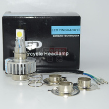 H4 H6 H7 18W LED Motorcycle Headlight white Bulb Headlamp High Low Beam Driving Headlamp Motor Lights