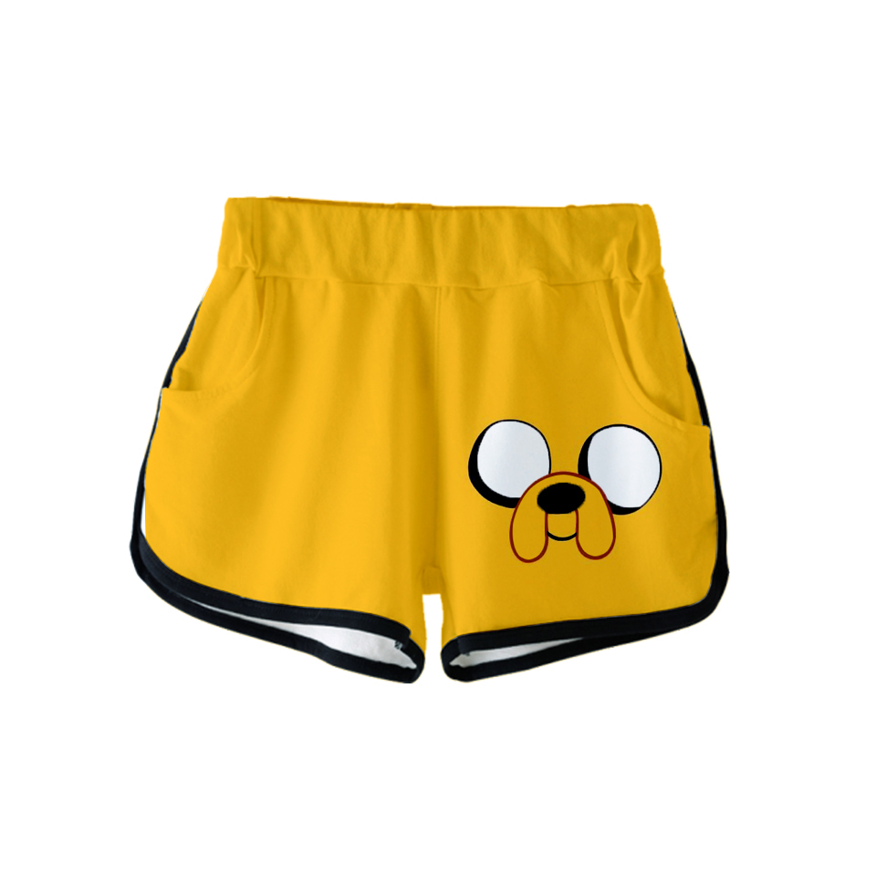 Short-Pants Adventure-Time Oversize Male Casual Hot Gym America Cartoon Nieuwste-Model