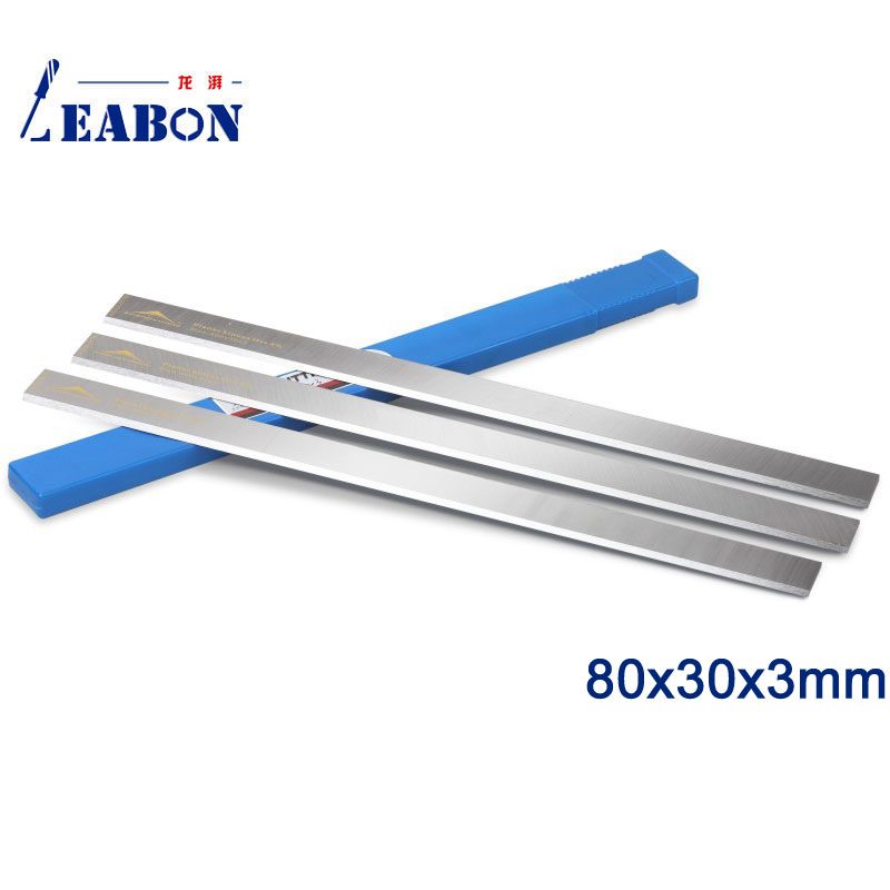 LEABON 80x30x3mm China Wholesale HSS Planer Blade For Woodworking Machine (A01003024)