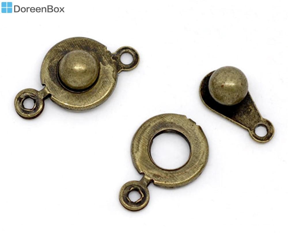 Doreen Box Lovely 50 Bronze Tone Trailer Hitch Clasps 18x9.5mm (B09620) ...