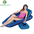 3 Pieces/Set 2016 New Inflatable Deck Chair Seat Coasters Cup Holder Polyester Mesh Swim Pool Floating Raft Bed For Adults Women