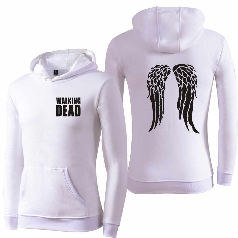 2017 de walking dead harajuku mannen vrouwen trainingspak hoodies en sweatshirts herfst winter brand clothing tumblr sweatshirt