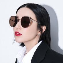 2019 Cat Eye Vintage Brand Designer Black Mirror Sunglasses For Women Metal Frame Reflective Lens Sun Glasses dames UV400 wi fi роутер tp link tl er604w