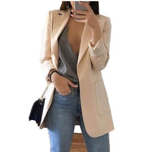 sharezz Jackets for Women Suit ladies Long Sleeve Blazer