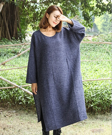 New product release in the fall of 2016, the original design knitted cotton loose big yards of womens sweaters