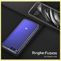 For Xiaomi Mi 6 Case Original Ringke FUSION Crystal Clear PC Back TPU Cover For Mi6