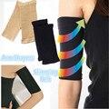 2 Pcs Mulheres Slimming Arm Shaper Pernas Braço Fino Calorias Off Massagem Perda De Peso Shapewear Elástico Superior Chaves & Suporta