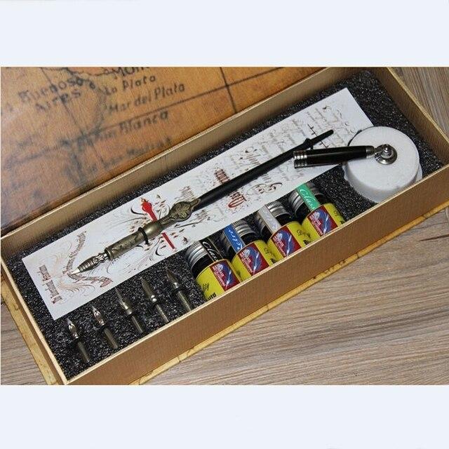 Buy Calligraphy Fountain Pen Set Antique