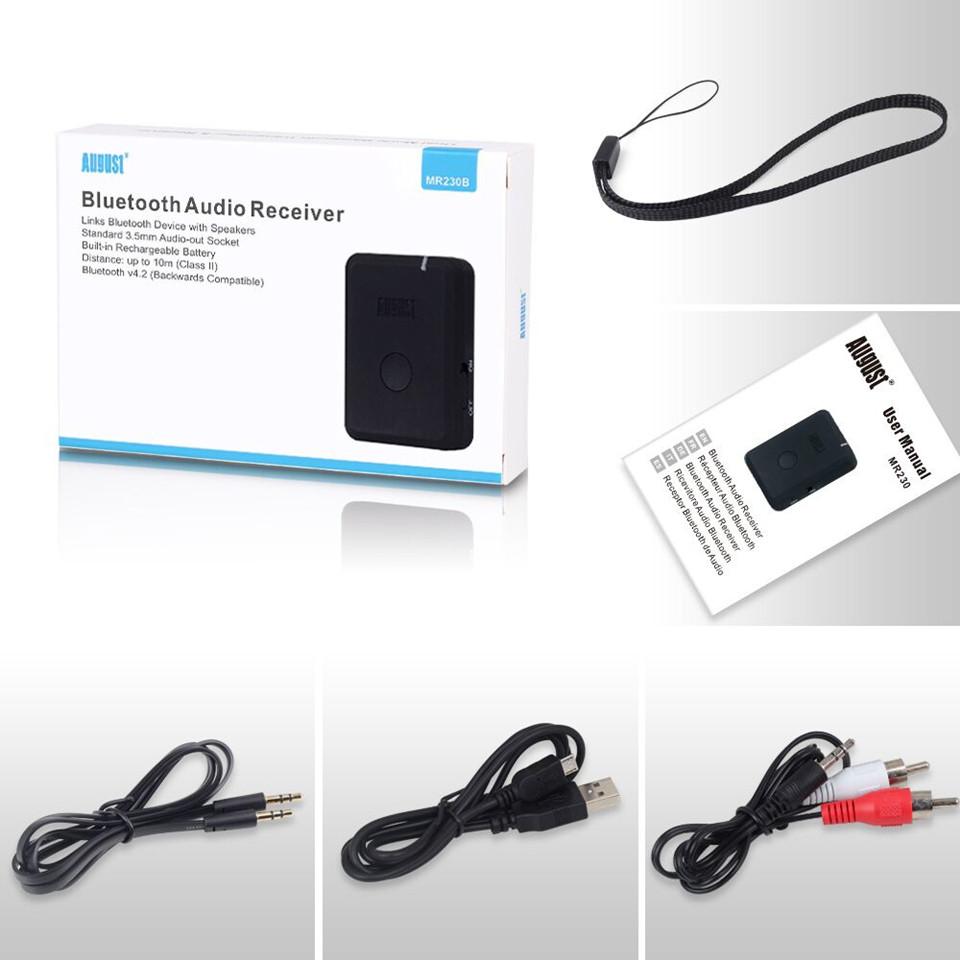 August MR230 Bluetooth Receiver