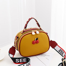 Female package 2019 new small bag lady sweet fashion female worn one shoulder