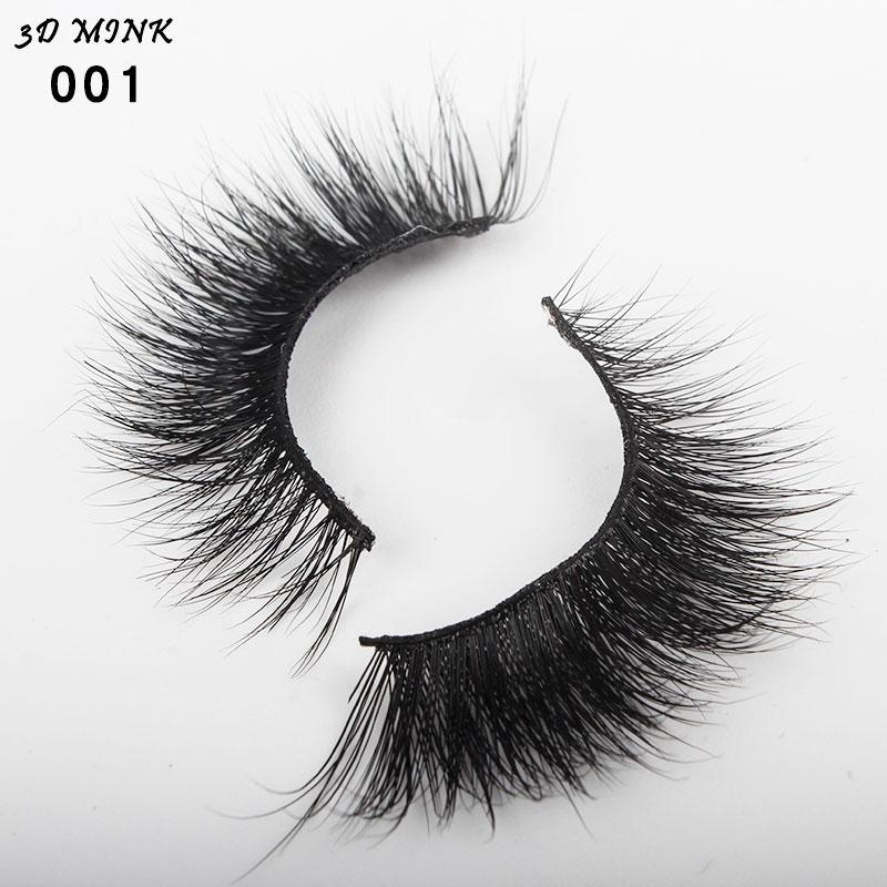 Professional Mink Eyelashes 3D Mink Lashes Thick HandMade ...