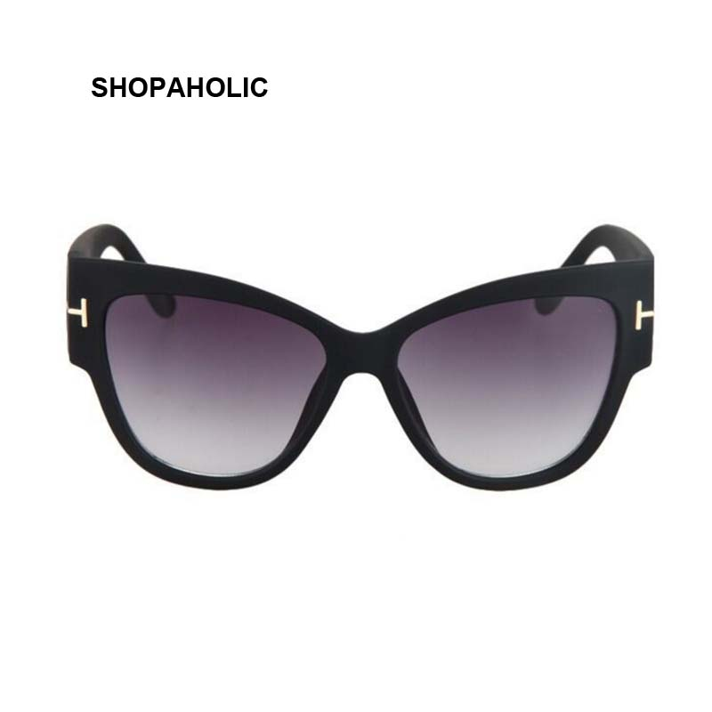 New Gradient Points Cat Eye Women Sunglasses Tom High Fashion Sun Glasses Female Cateyes Sunglasses Women Brand Designer Oculos 1