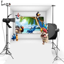 Cartoon For Kids Vinyl Photography Background Backdrop Oxford Newborn photo studio Props 1706