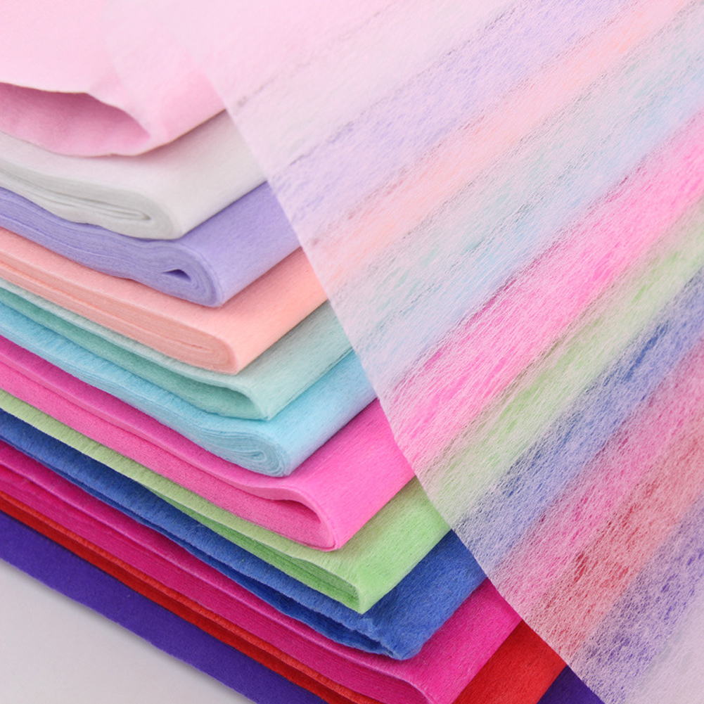 30sheet/pack Clothing Flower Packaging Paper Wine Florist Supplies Wrapping Tissue Craft Single Color Bouquet Gift DIY Handmade