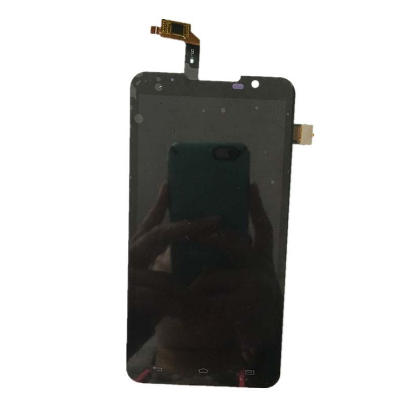BLACK LCD Display + Touch Screen Digitizer Assembly FOR Highscreen Alpha R Free Shipping