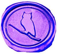 Vintage Owl On Fancy Script Luxury Wax Seal Sealing Stamp Brass Peacock Metal Handle Sticks Melting