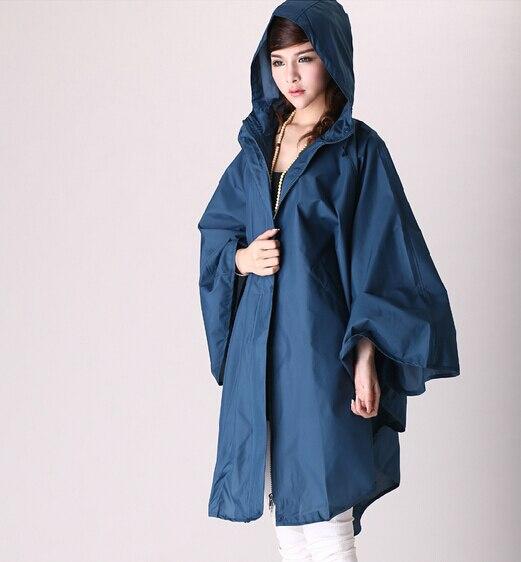 מעיל גשם נשים חמוד מעיל גשם מעיל גשם נשים נשימה חינם גשם מעיל מעילים פונצ'וס נסיעות ארוכות קאפה דה chuasqueros mujer