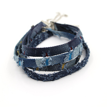Blue Denim Choker