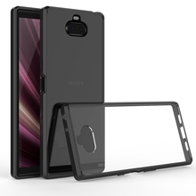 Soft Silicon TPU/PC Case For Sony Xperia 10 Plus Fundas Coque Shockproof Crystal Clear Shell Hard Back Cover For Sony Xperia 1 стоимость