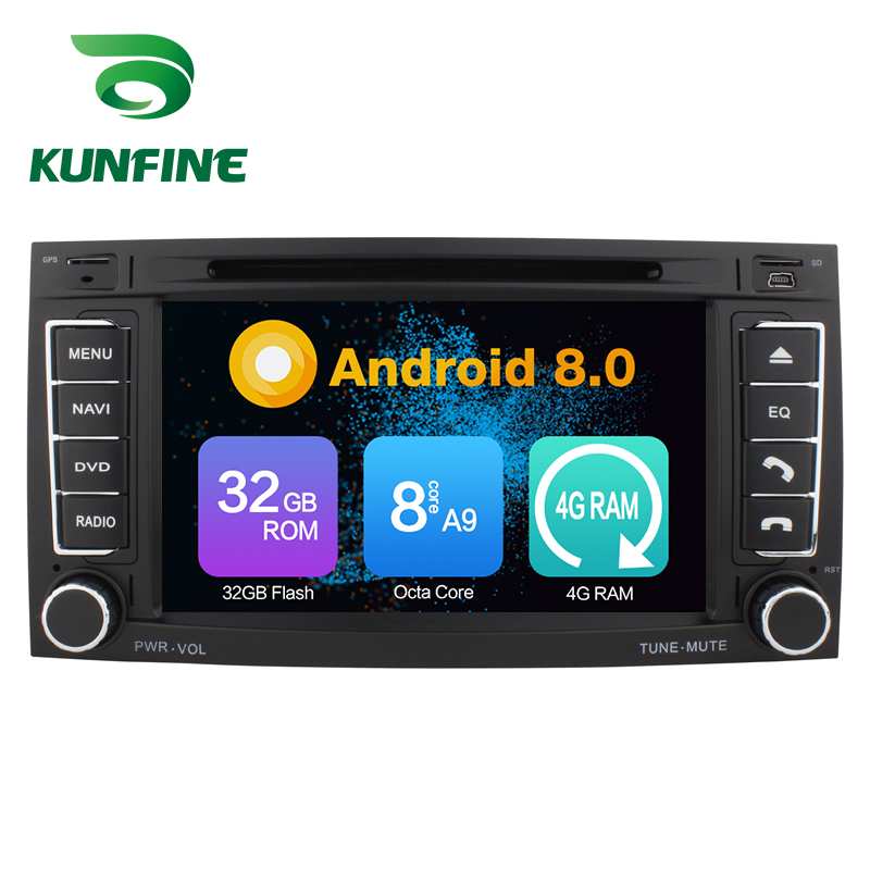 Octa Core 4GB RAM Android 8.0 Car DVD GPS Navigation Multimedia Player Car Stereo for VW Volkswagen TOUAREG T5 Transporter