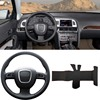 Brand New DIY Sewing On PU Leather Steering Wheel Cover Exact Fit For Audi A4 B8