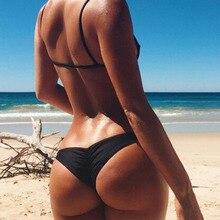 Las nuevas Mujeres Calientes Sexy Bikini Brasileño Tanga trajes de Baño de la Playa traje de Baño traje de Baño Más Del Tamaño maillot de bain femme F1