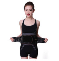 New Elastic Adjustable Orthopedic Posture Corrector Brace Lower Back Waist Trimmer Belt Lumbar Support Belt Corset for Men Women