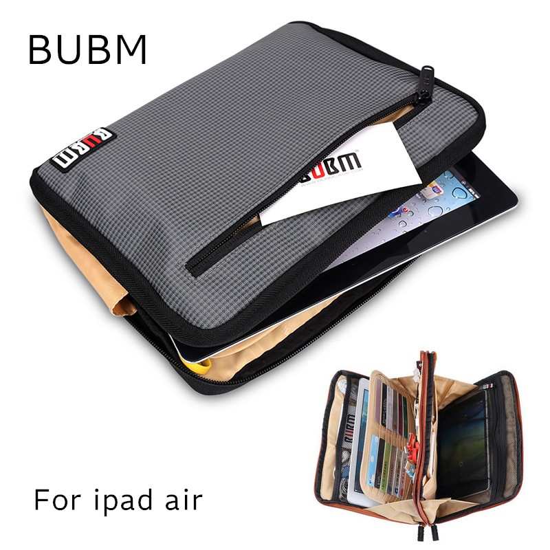 Hot Brand BUBM Storage Case For ipad 2/3/4/5, Handbag For ipad Air Pro 9.7, Pouch For 9 inch Tablet,. Free Shipping hot brand bubm accessories storage bag for ipad mini 7 case for tablet 3 pcs in 1 suit handbag free drop shipping