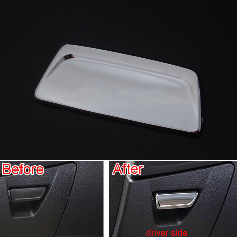 1Pc Chrome ABS Interior Driver Side Storage Glove box Lid Handle Cover Trim Decoration for Ford Focus 2012-2015 Car Styling