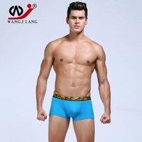 3 pçs/lote Freeshipping 2016 novos homens sexy boxer underwear masculino transparente roupa interior dos pugilistas 6 cores ml XL