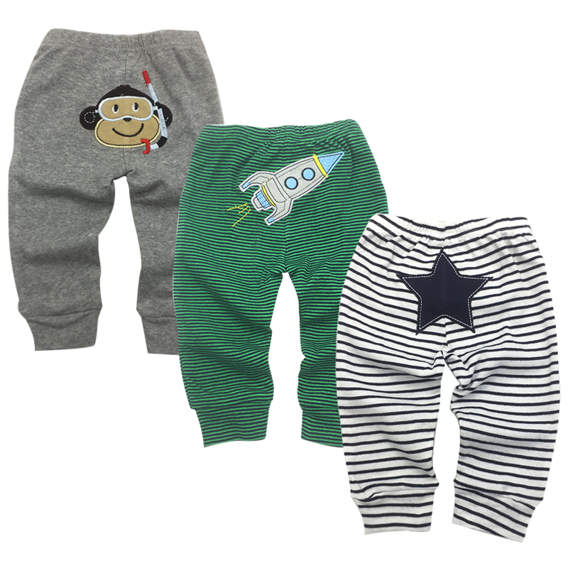 3-Pack Baby Pants Spring Newborn 3 6 9 12 18 24 Months Harem pants Kids PP Trousers Boy Girl Toddler Trousers Infant Clothing