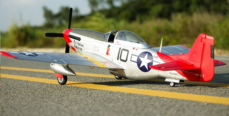 Aliexpress Com Buy Fms 1450mm P51 D V8 Rc Airplane Model