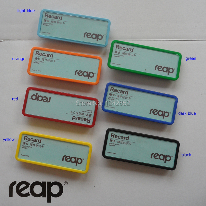 7028j 75 27mm reap abs staff name badge tag name holder id holder