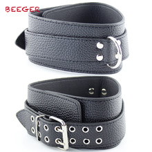 BEEGER Strict Leather Premium Locking Collars, Slave Fetish Sex Toys For couples