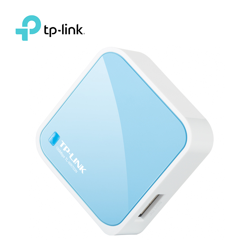 TP-LINK WR703N 150Mbps USB Wireless 3G Router Portable Mini TP LINK TL-WR703N Wi-Fi Router For Travel Outdoor Free Shipping j link 7601 mini usb 2 0 150mbps 802 11n wireless network adapter card black silver