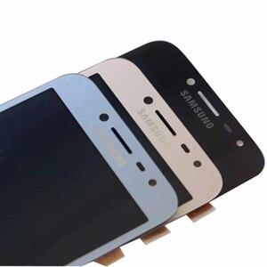 Image 2 - Pantalla LCD para Samsung Galaxy J2 Pro 2018 J250 SM J250 MONTAJE DE digitalizador de pantalla táctil para Samsung j2Pro J250F adhesivo + herramientas