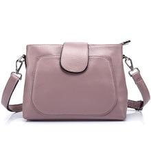 цена Lisse New Arrvial Multi-layer storage Genuine Leather Shoulder Messenger Bag Women Crossbody handbag  Cow Leather Lady bag в интернет-магазинах