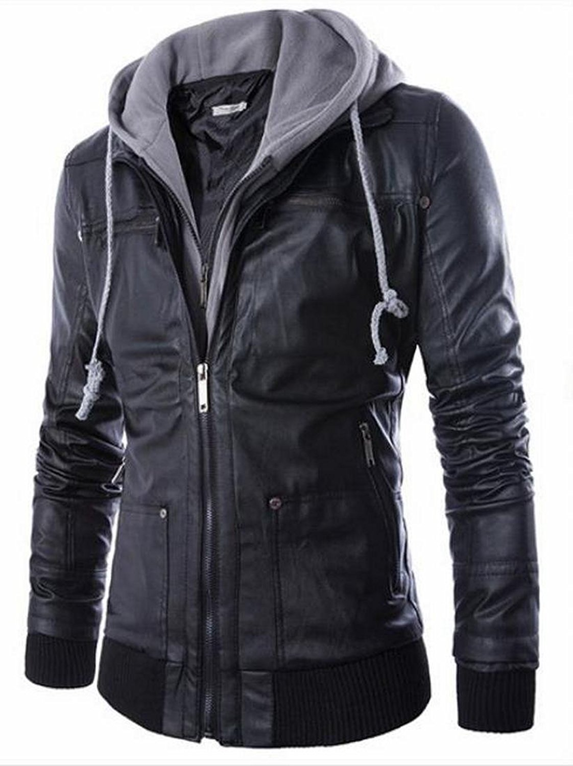 Compare Prices on Stylish Leather Jackets for Men- Online Shopping ...