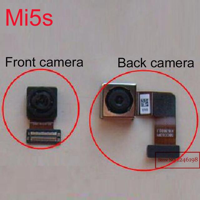 TOP QUALITY Big Traseiro Voltar ou Pequeno Módulo Da Câmera Frontal substituição flex cable para xiaomi mi mi5s m5s 5S inteligente telefone