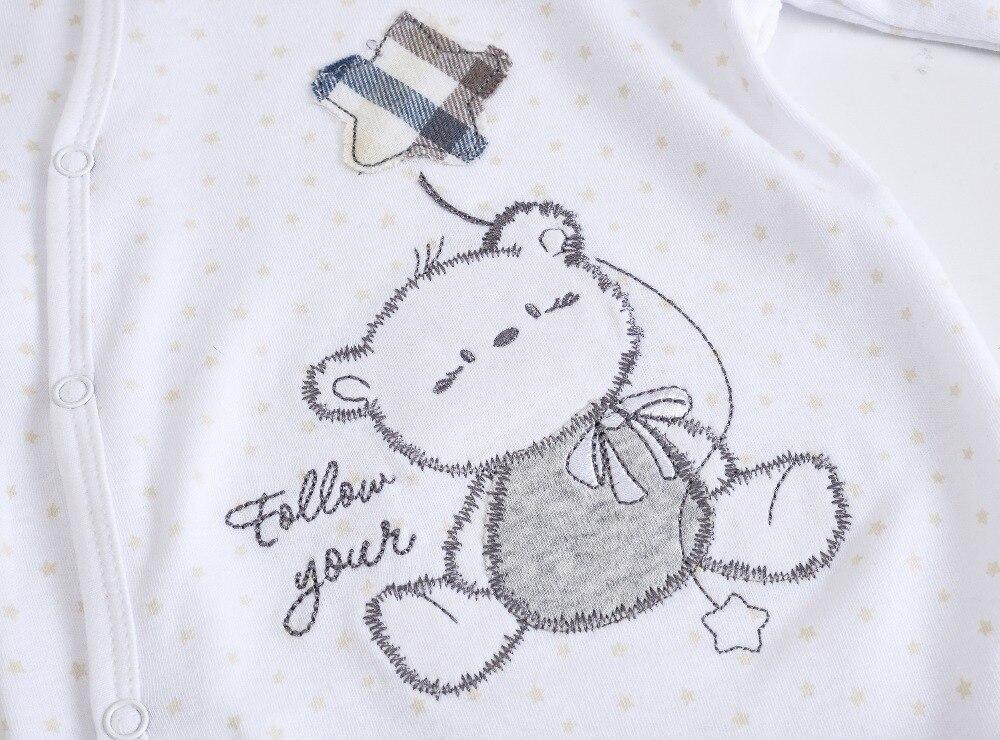 HTB156MFXOnrK1Rjy1Xcq6yeDVXag 2019 3 4 pcs/lot Summer Baby Boy roupa de bebes Newborn Jumpsuit Long Sleeve Cotton Pajamas 0-12 Months Rompers Baby Clothes